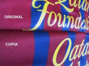 Como saber si una camiseta de futbol es Original 6