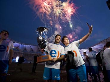 Maratón de futbol en Chile alcanza el record Guiness