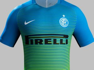 3era Equipacion Inter de Milan camisetas 2016 - 2017