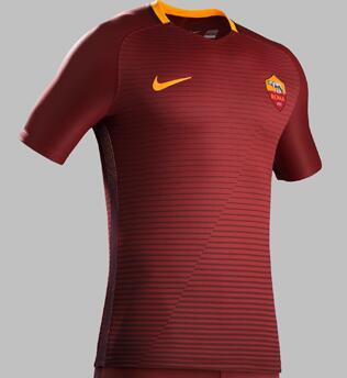 Equipacion para casa AS Roma 2016 - 2017