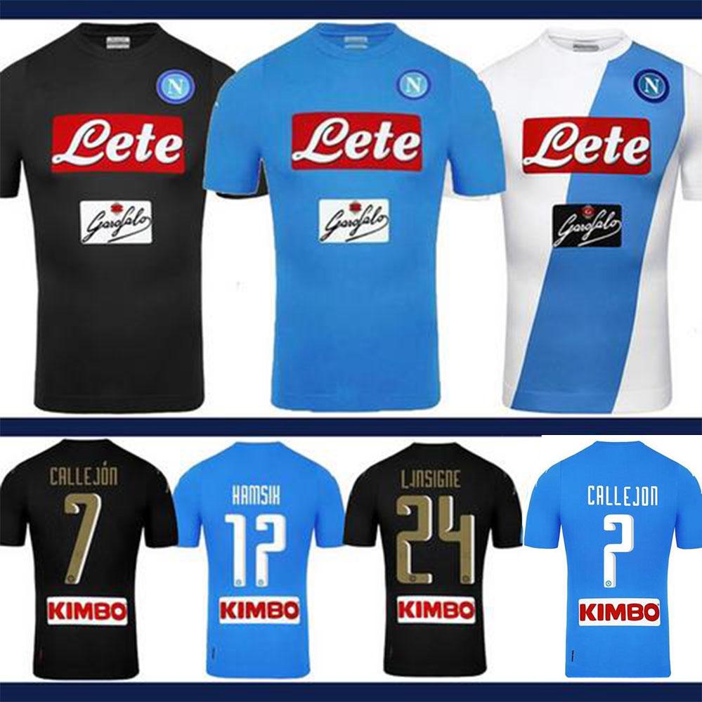Camiseta Napoli futbol 87e81f0018acc