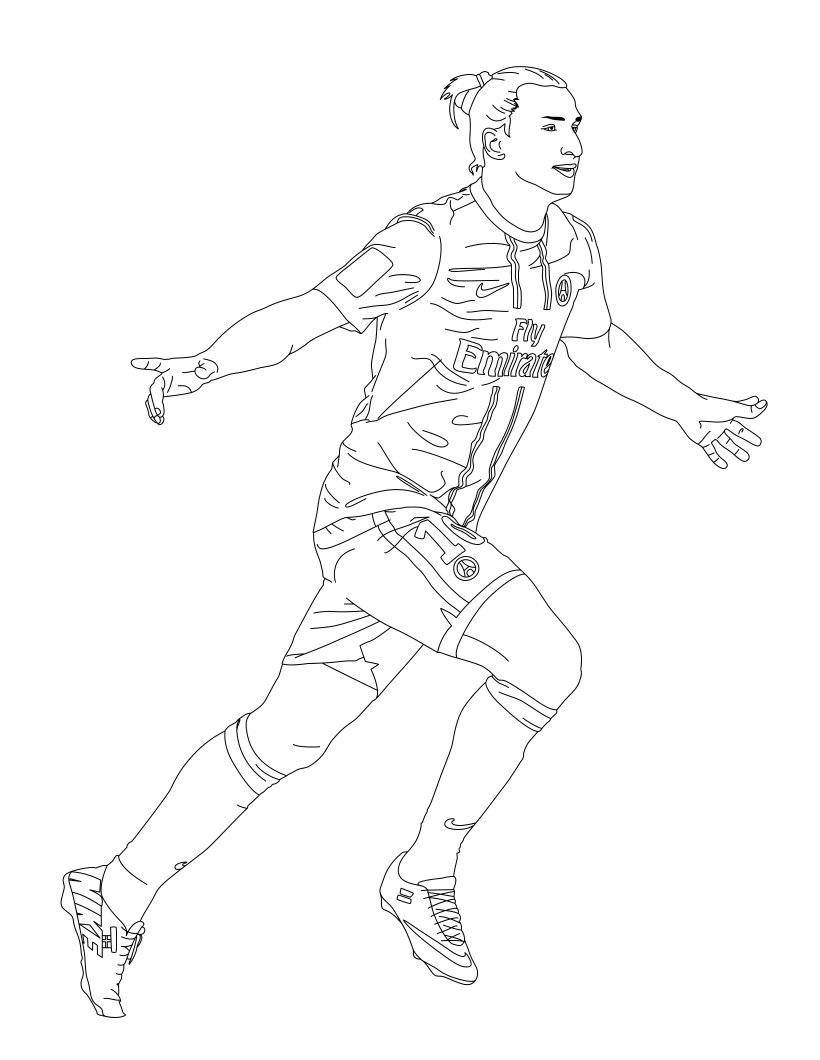 dibujos para colorear jugadores real madrid
