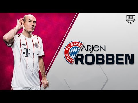 Arjen Robben 2017/2018 Bayern Munich (Video)