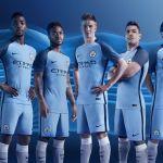 Camisetas del Manchester City