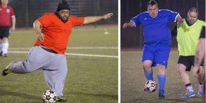 Liga de futbol solo para obesos