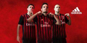 AC Milan camisetas equipaciones 2016 2017 - Cuáles son los modelos de camisetas de futbol para equipos de la Serie A 2016 – 2017