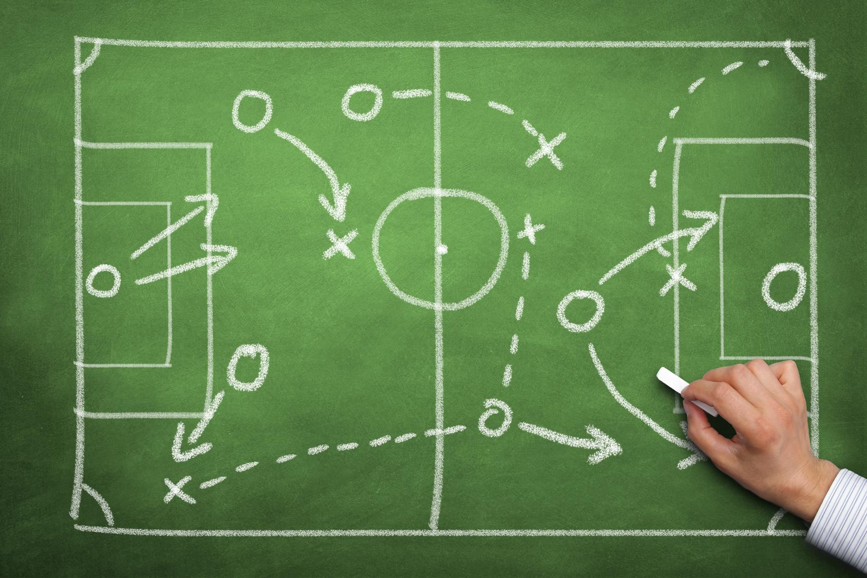 ¿Cómo hacer jugadas de fútbol en Equipo?