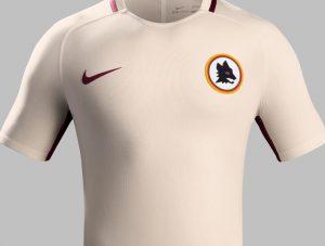 Camiseta de visitante AS Roma 2016 - 2017