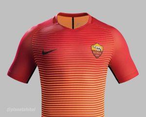 Tercera Equipacion de la AS Roma 2016 - 2017