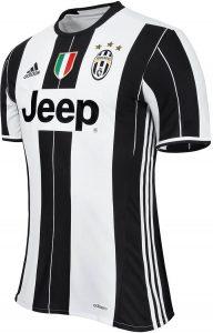 Equipacion de casa Juventus 2016 - 2017