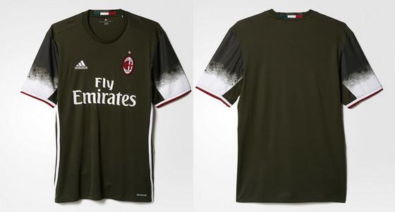 3era Camiseta AC Milan 2016 2017 -