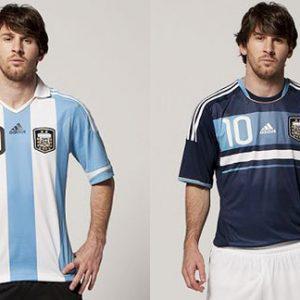 Camisetas de la Seleccion de Argentina