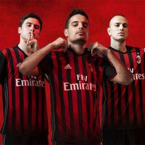 Camisetas del AC Milan
